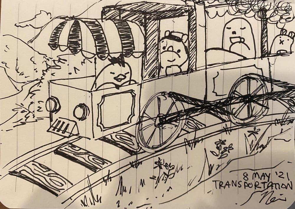 Nerissa's Random Word Doodles - image 3 - student project