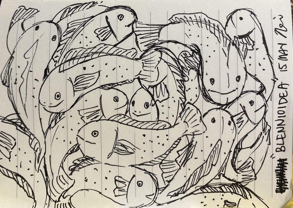 Nerissa's Random Word Doodles - image 6 - student project