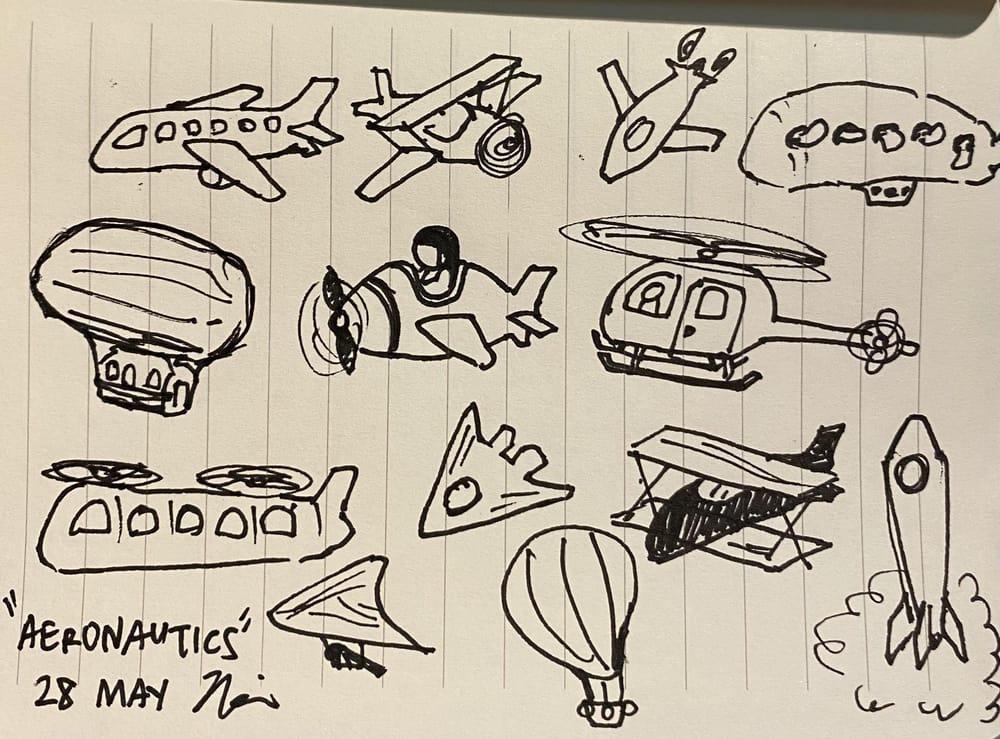 Nerissa's Random Word Doodles - image 11 - student project