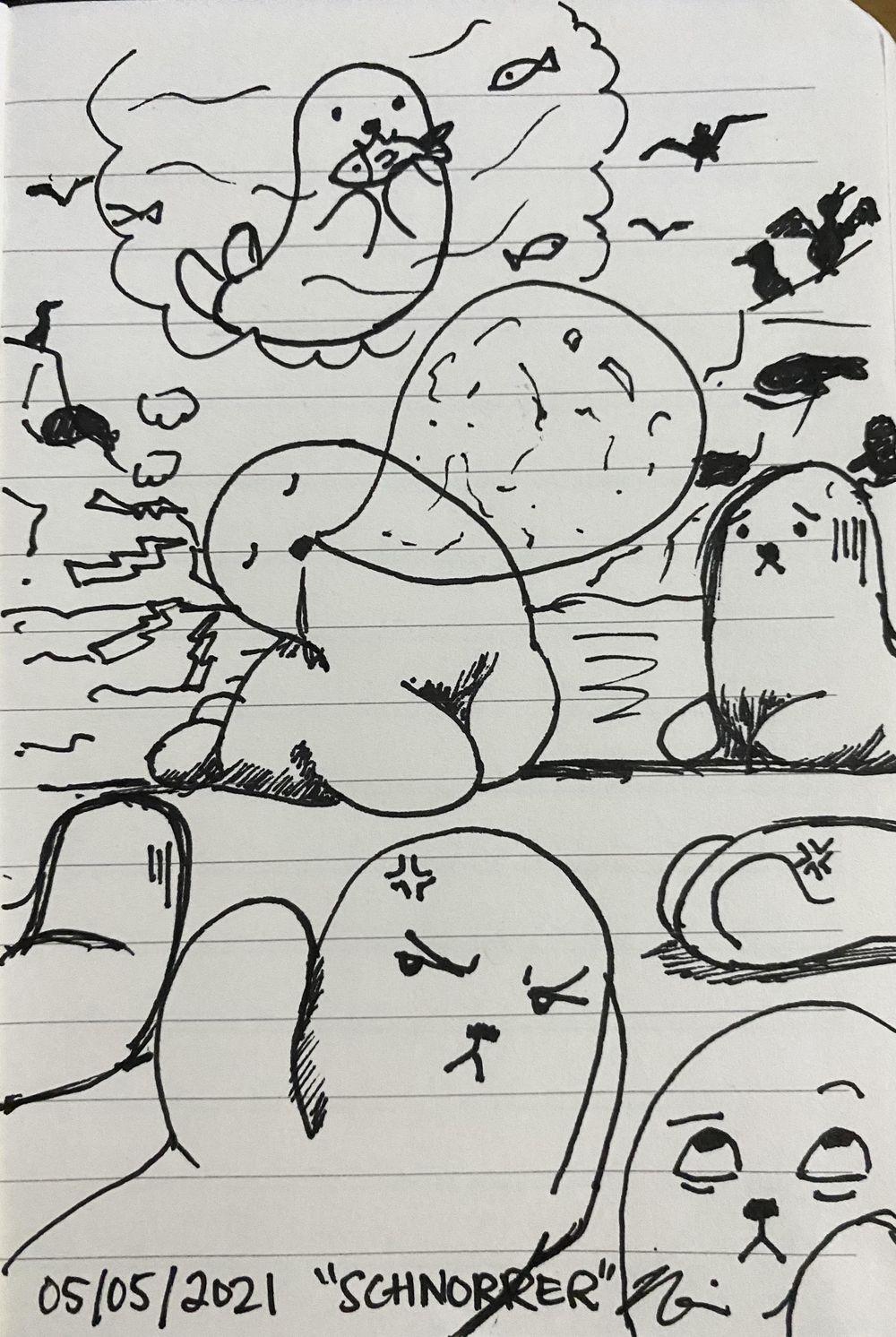 Nerissa's Random Word Doodles - image 2 - student project