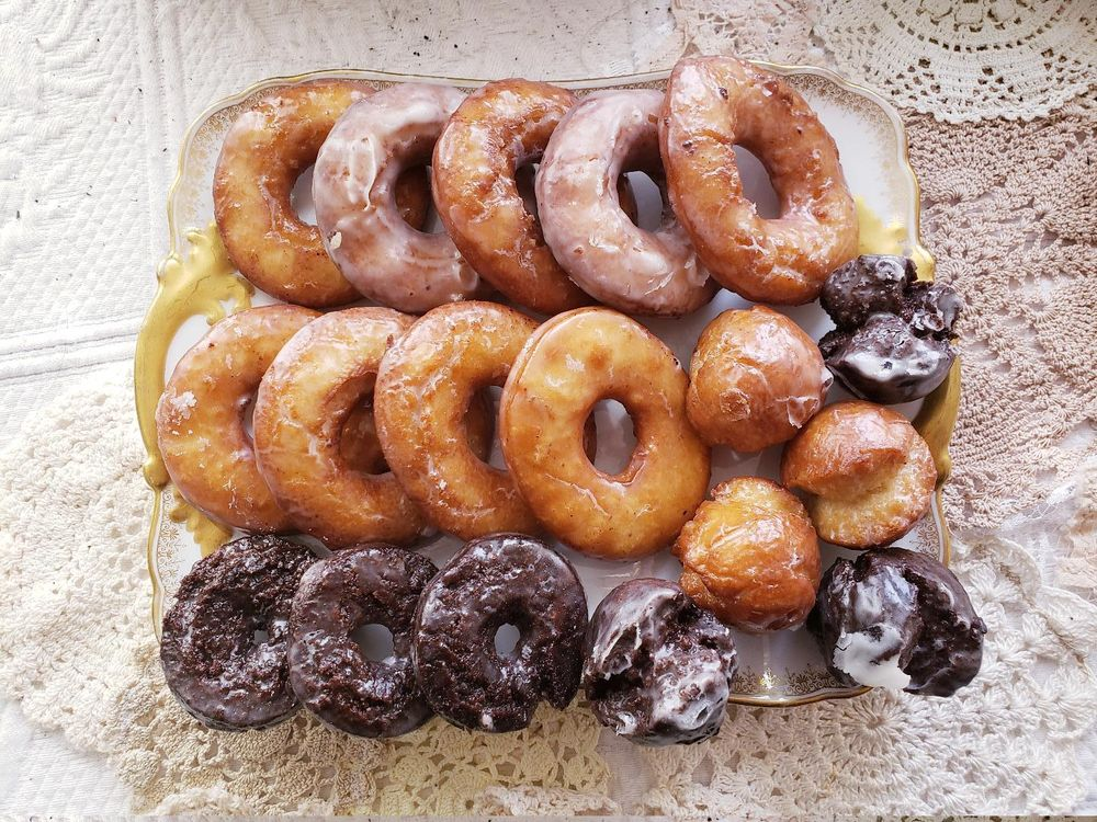 Homemade doughnuts - image 1 - student project