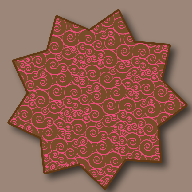 Starburst with spirals - image 1 - student project