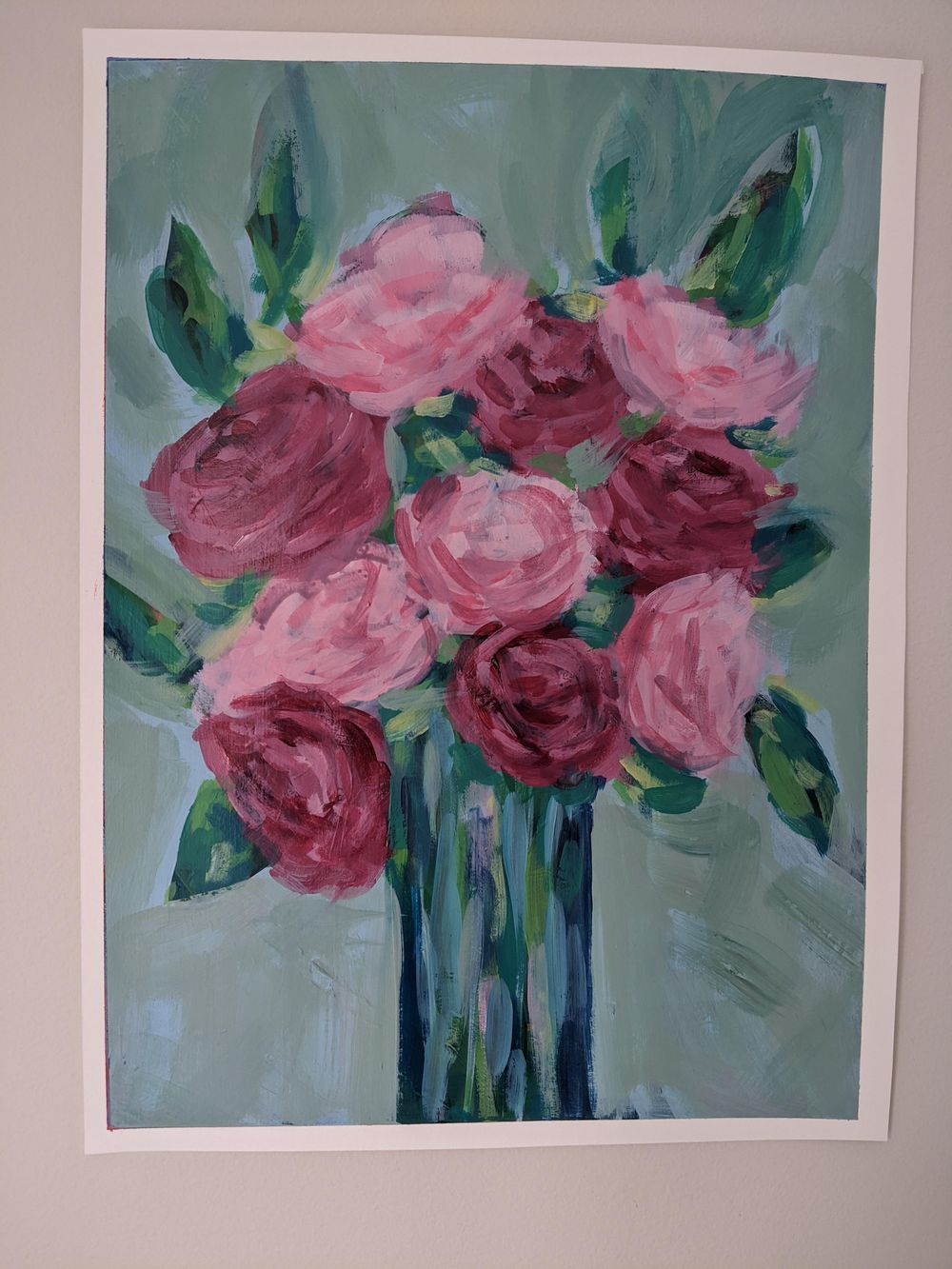 Abstract flowers - image 2 - student project