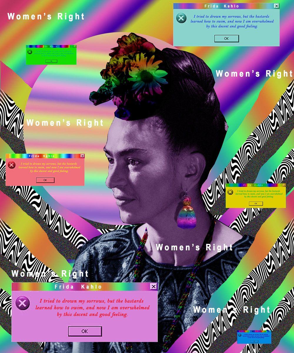 Frida Kahlo - image 1 - student project