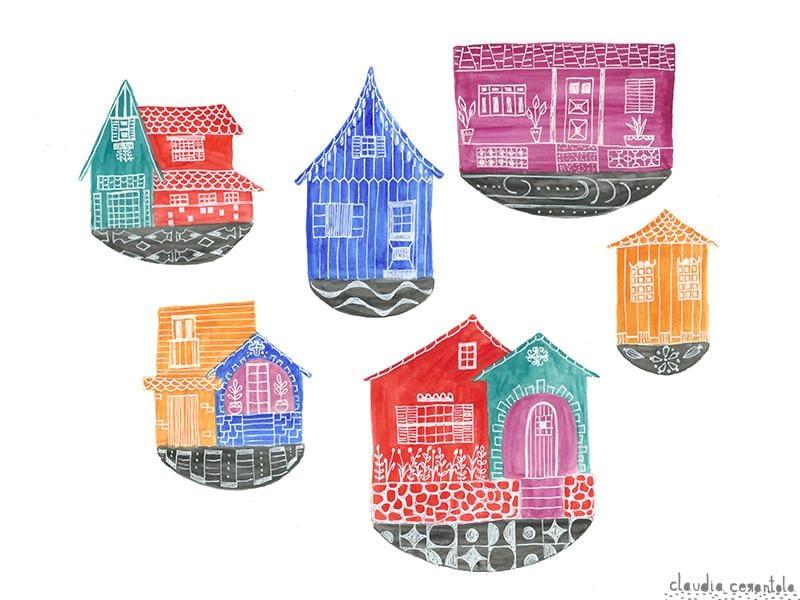 Little houses' souvenirs - image 2 - student project