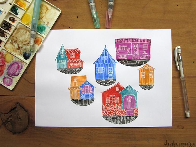 Little houses' souvenirs - image 1 - student project