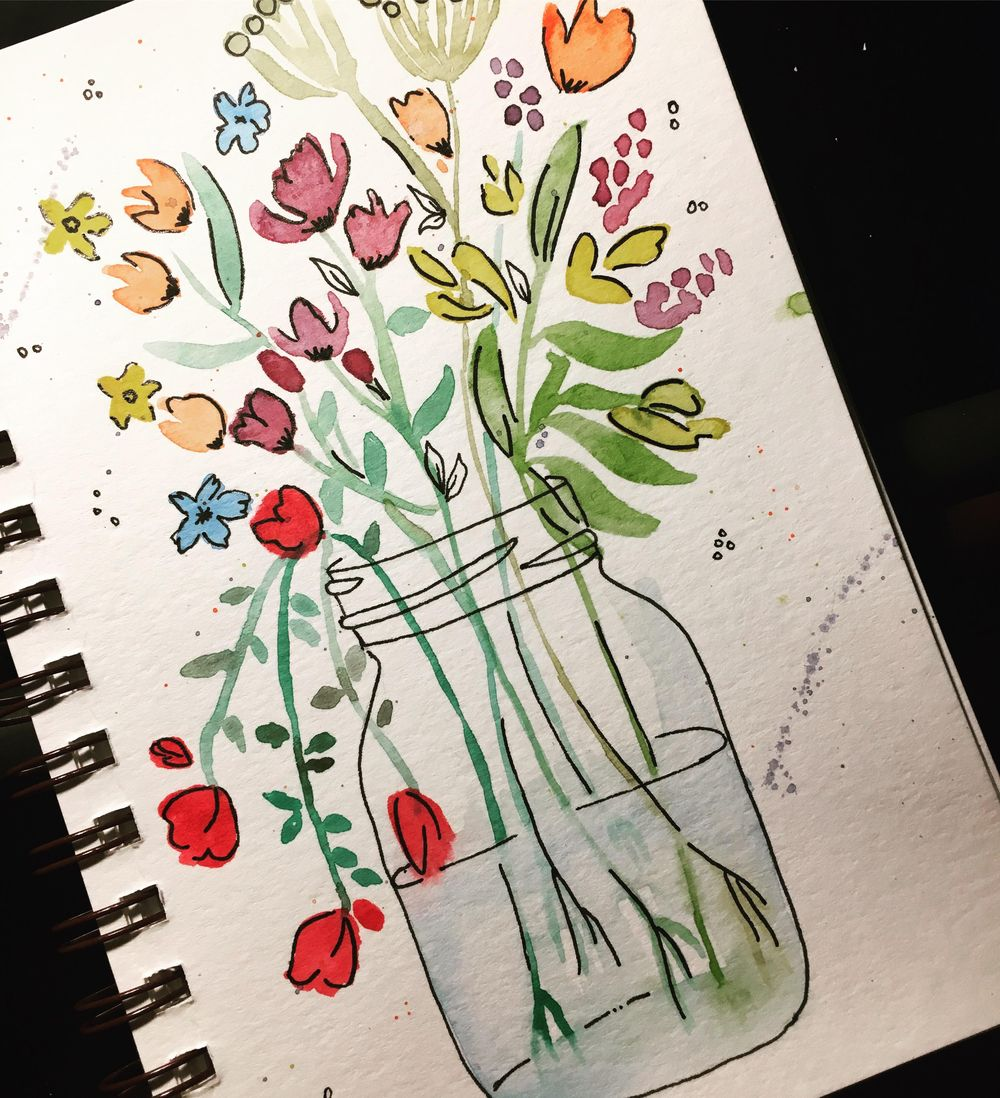 Wildflowers Jar - image 1 - student project