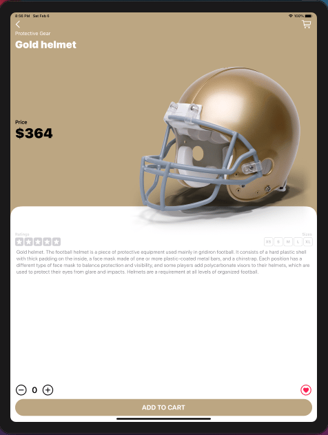 Touchdown: My e-commerce app was finished - image 11 - student project