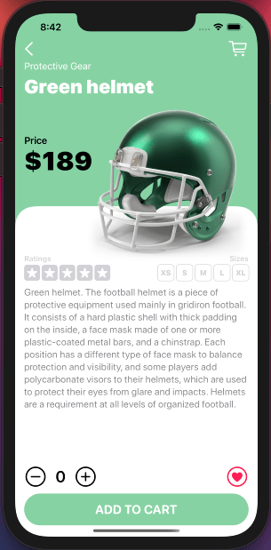 Touchdown: My e-commerce app was finished - image 7 - student project