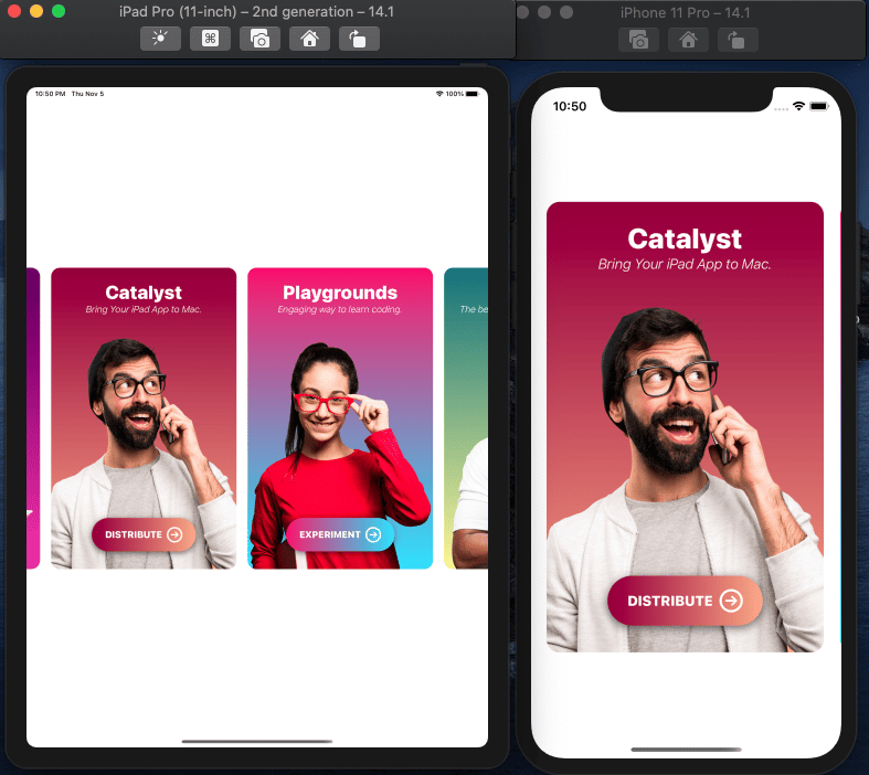 Learn by Doing: Create an awesome iOS card app with SwiftUI - image 2 - student project