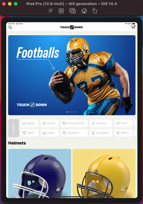 Touchdown: My e-commerce app was finished - image 8 - student project