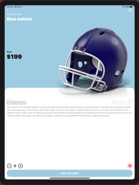 Touchdown: My e-commerce app was finished - image 12 - student project
