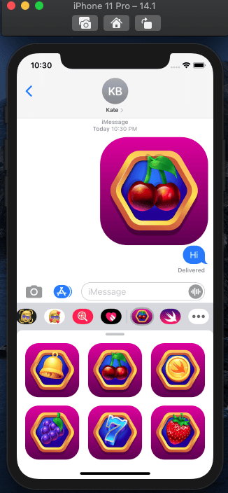 Build an iOS and macOS Game with SwiftUI - image 3 - student project
