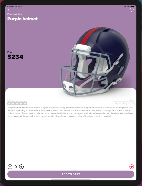 Touchdown: My e-commerce app was finished - image 13 - student project