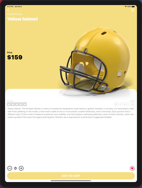 Touchdown: My e-commerce app was finished - image 14 - student project