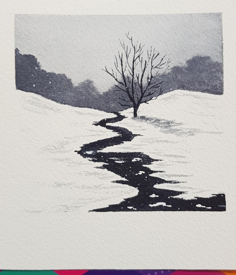 Snow landscapes - image 4 - student project