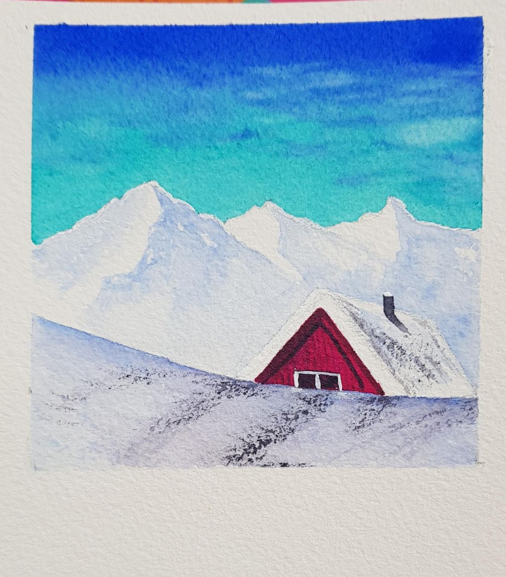 Snow landscapes - image 2 - student project
