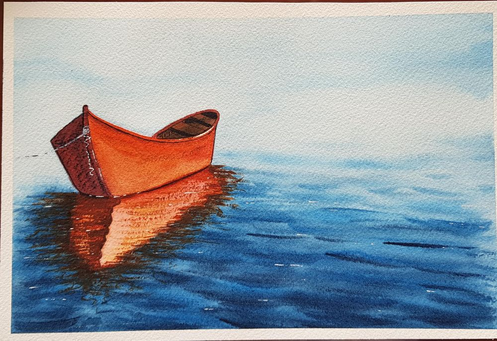 My first boat :) - image 1 - student project