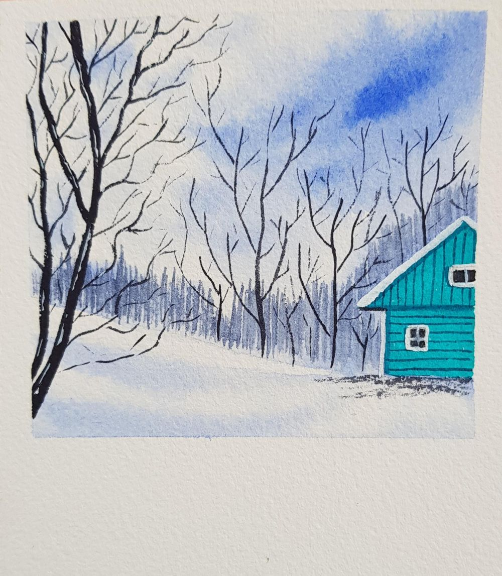 Snow landscapes - image 6 - student project