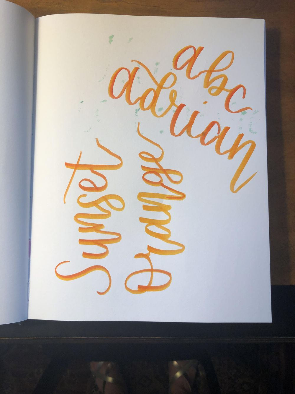 Brush Lettering Class! - image 7 - student project