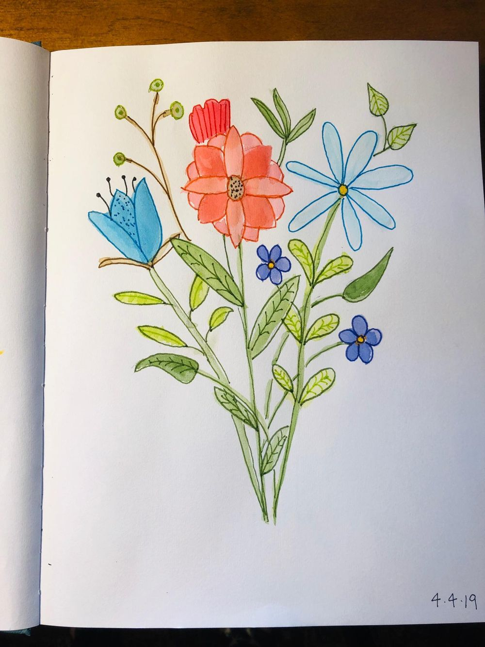 Florals and Bouquet :-) - image 2 - student project