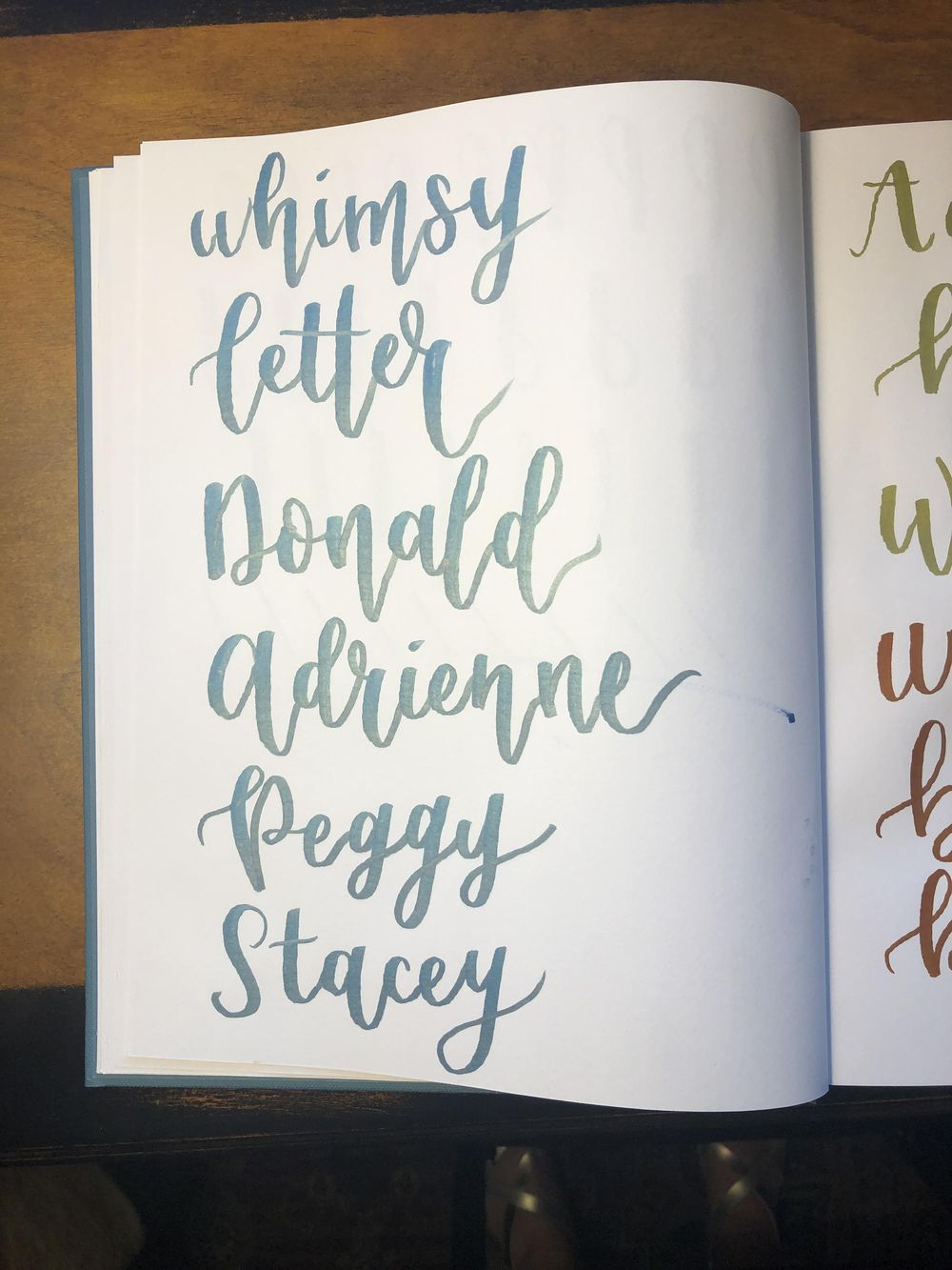 Brush Lettering Class! - image 4 - student project