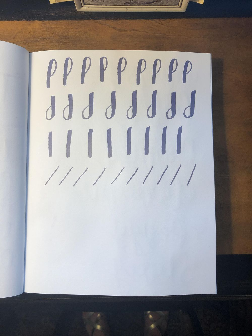Brush Lettering Class! - image 2 - student project