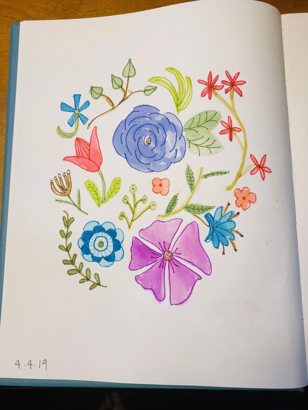 Florals and Bouquet :-) - image 1 - student project