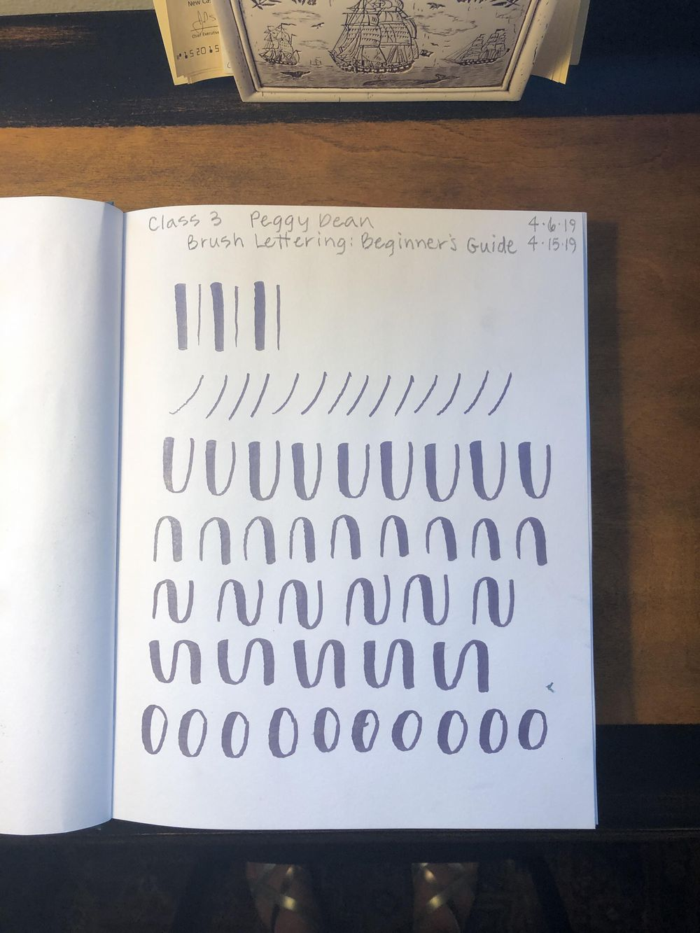 Brush Lettering Class! - image 1 - student project