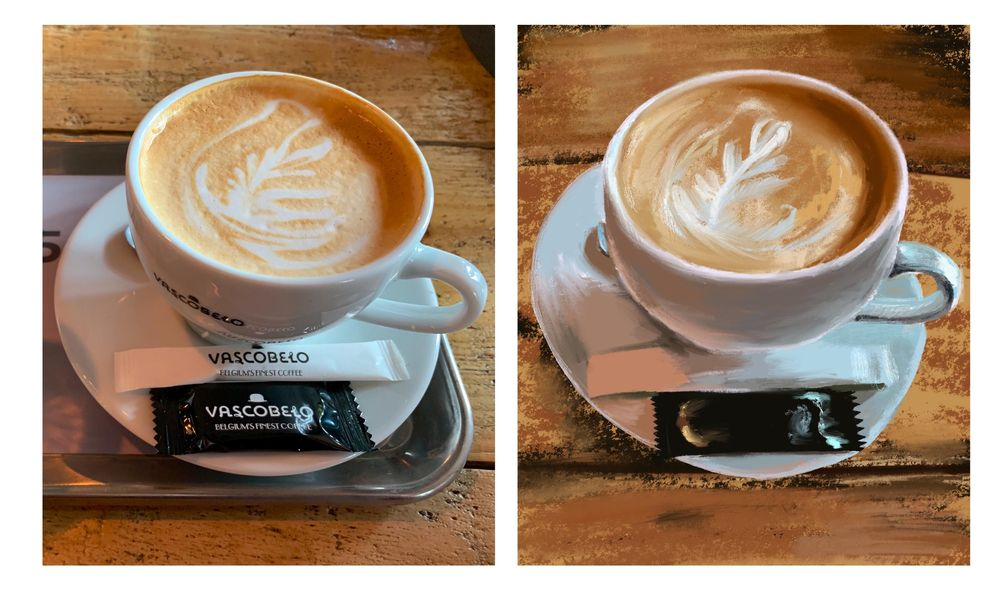 Kopje cappuccino - image 1 - student project