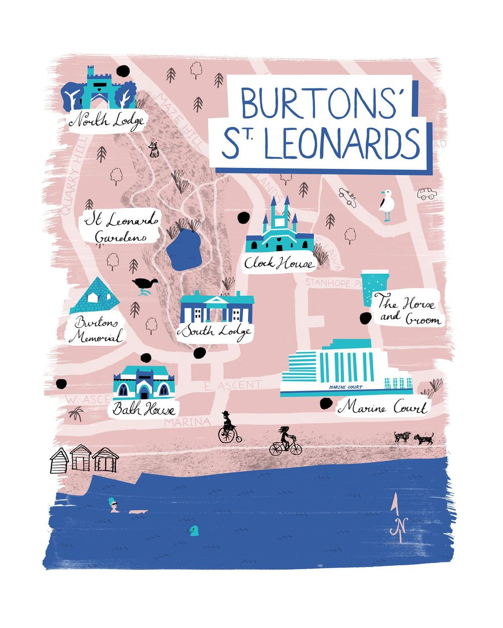 St Leonards Map - image 5 - student project