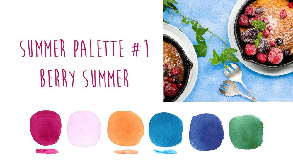 Summer Color Trends {Sample Project} - image 1 - student project
