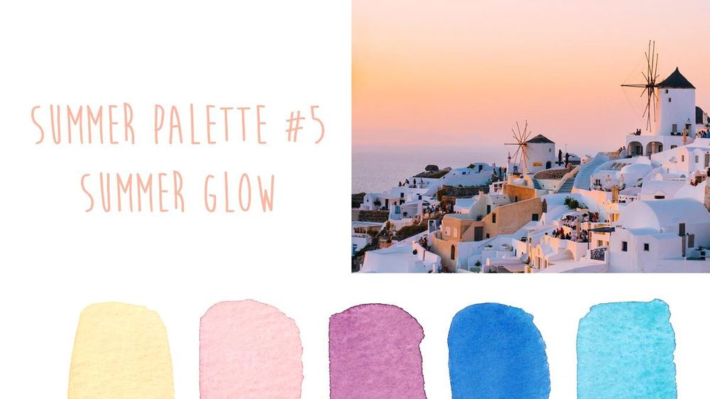 Summer Color Trends {Sample Project} - image 5 - student project