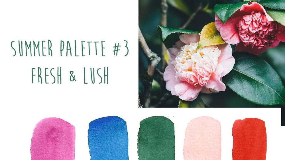 Summer Color Trends {Sample Project} - image 3 - student project