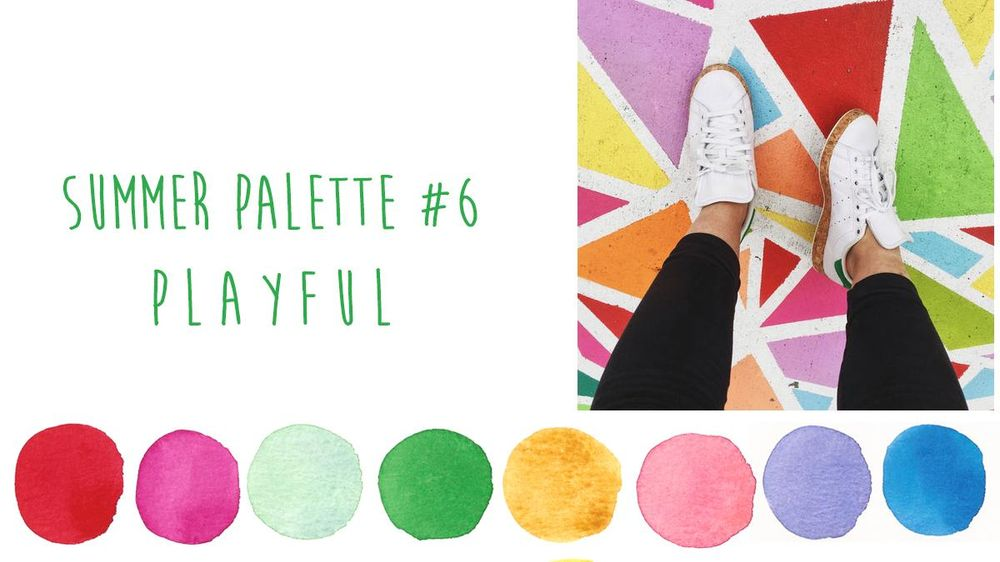 Summer Color Trends {Sample Project} - image 6 - student project