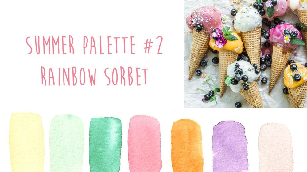 Summer Color Trends {Sample Project} - image 2 - student project