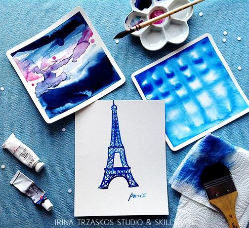 Watercolor Trends {Sample project} - image 1 - student project