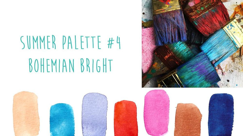 Summer Color Trends {Sample Project} - image 4 - student project