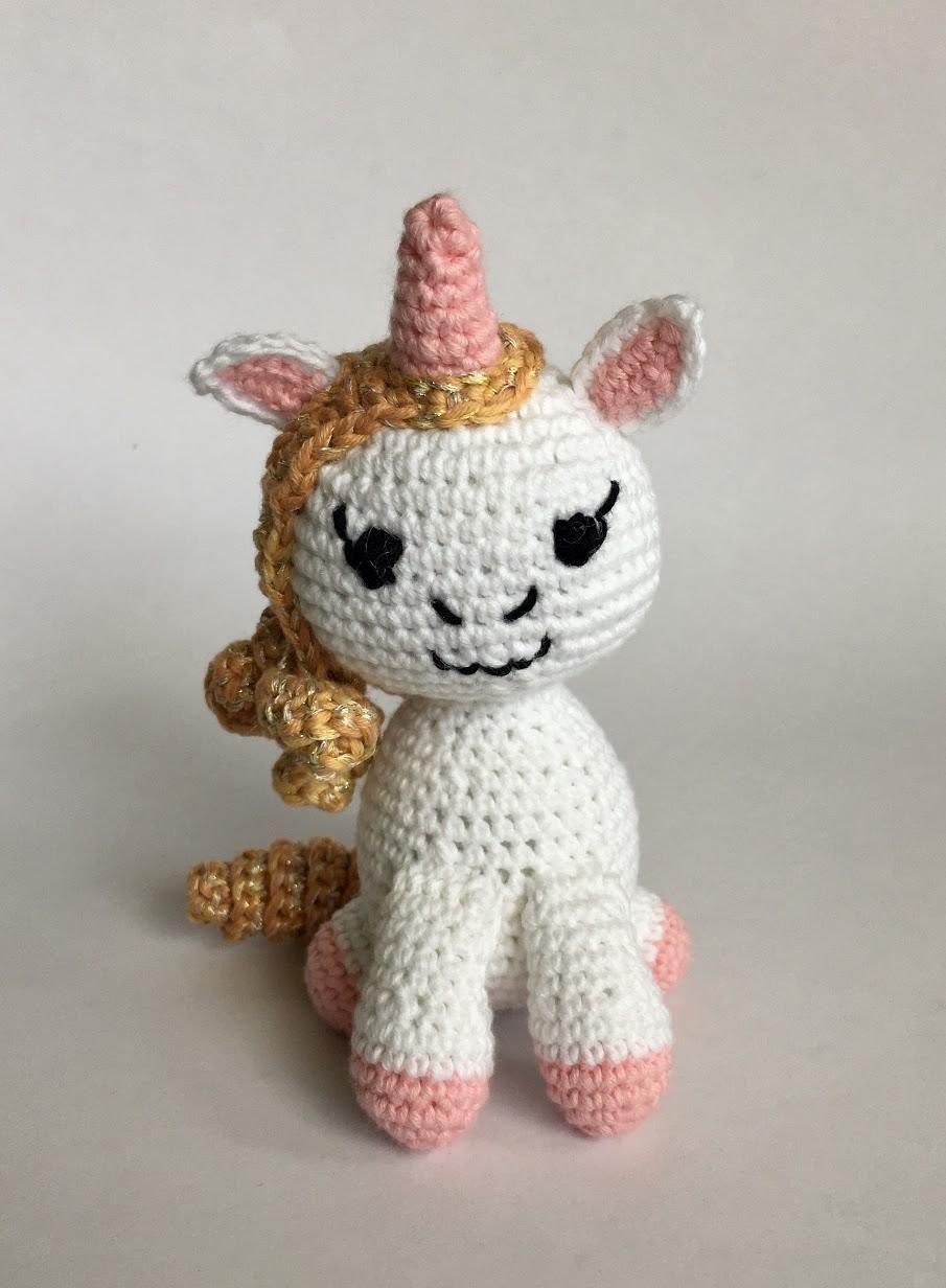 Unicorn - crocheting - image 1 - student project