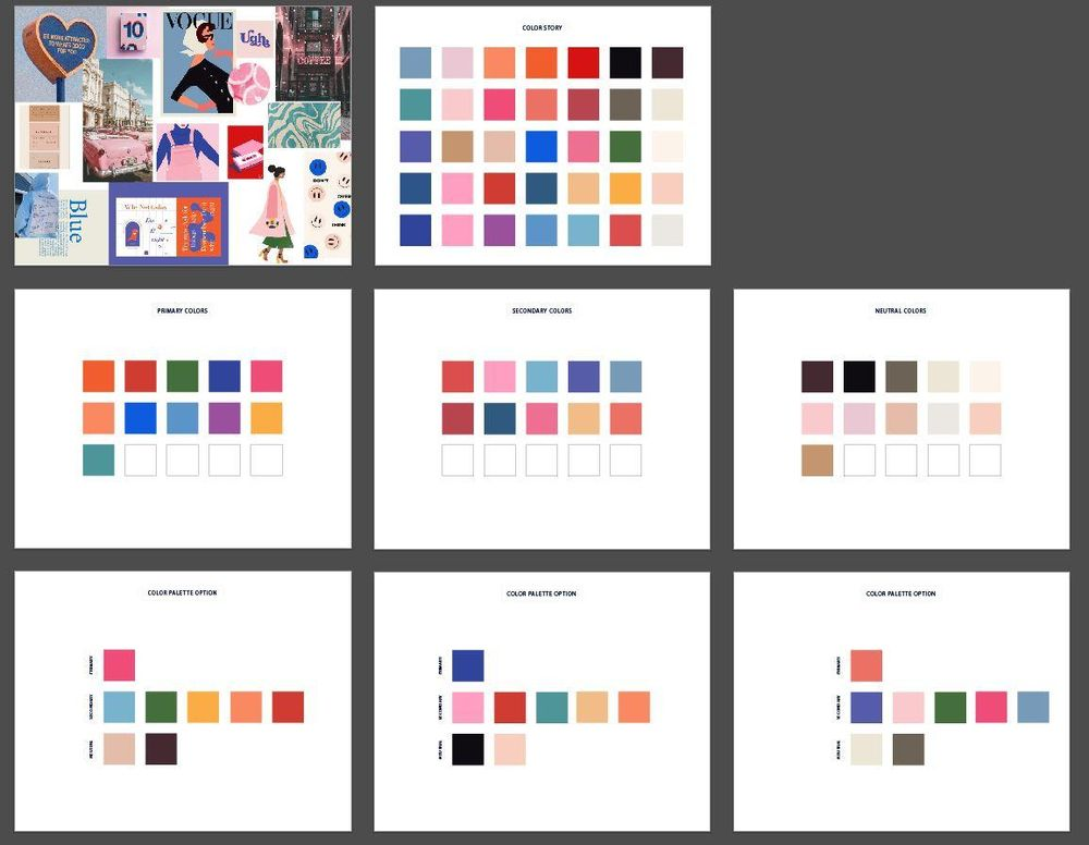 Brand Color Palette - image 1 - student project