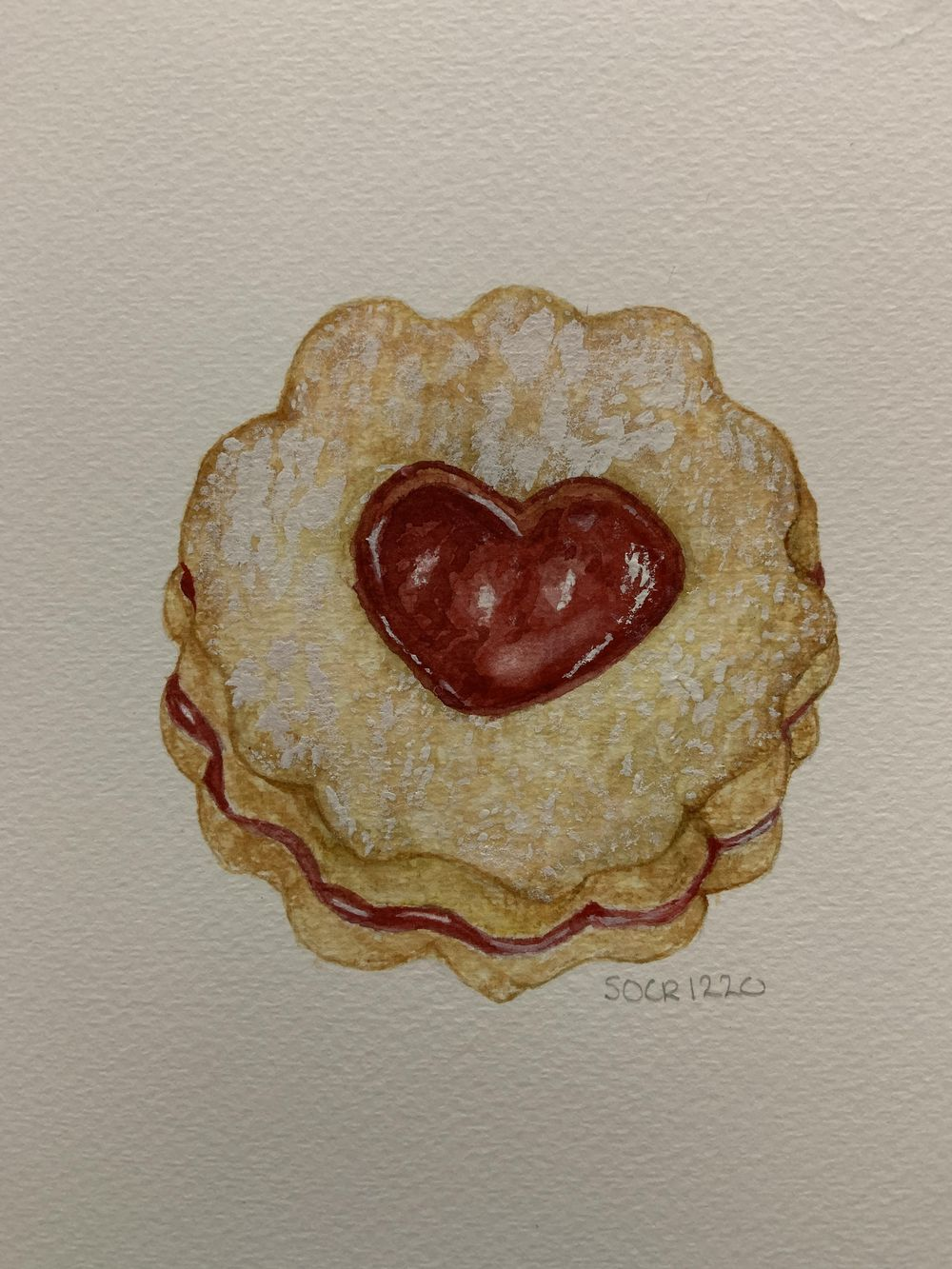 Just the Linzer Cookie - image 1 - student project