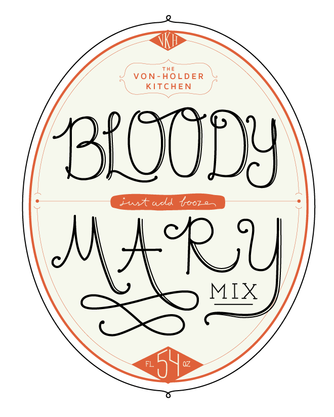 The Von-Holder Kitchen: Bloody Mary Mix - image 7 - student project