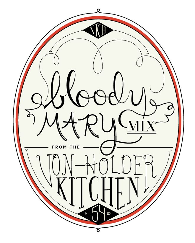 The Von-Holder Kitchen: Bloody Mary Mix - image 4 - student project