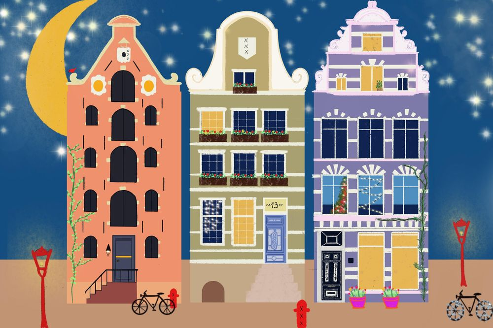 Amsterdam Xmas - image 1 - student project