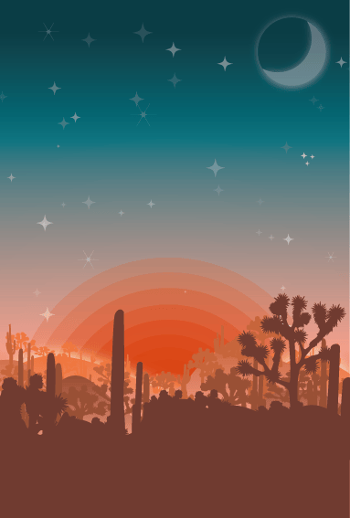Arizona Desert - image 1 - student project