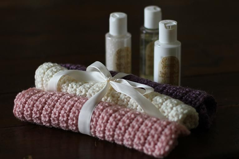 How to Crochet a Washcloth - image 1 - student project