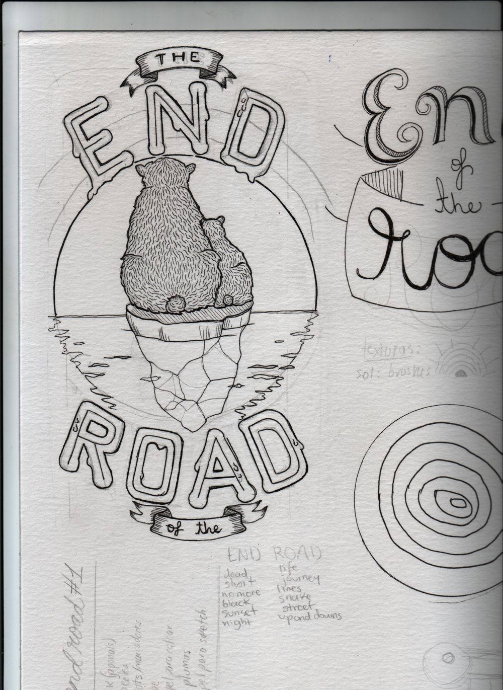 End-Road, (the...of the...) - image 2 - student project