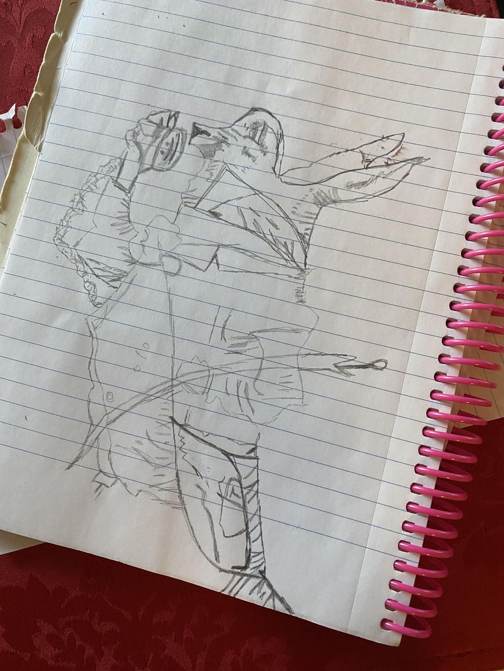 Upside Down Drawing - image 1 - student project
