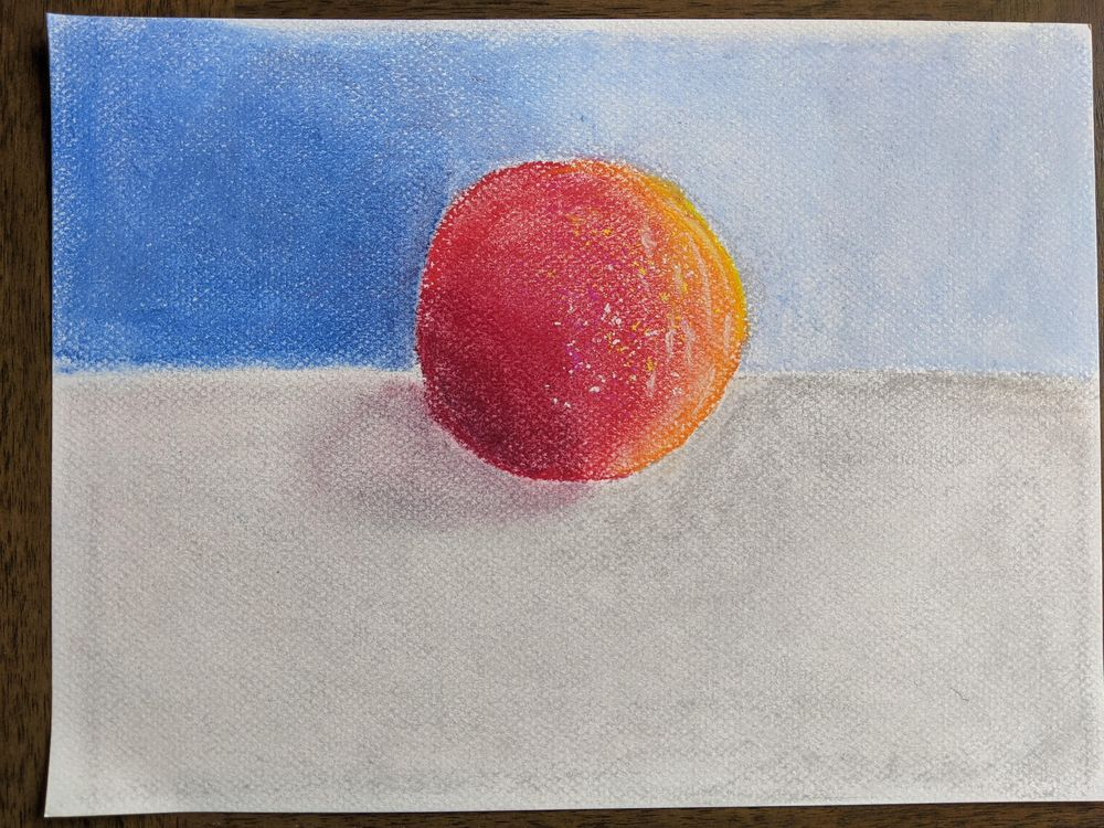 Soft Pastels for Beginners - image 2 - student project