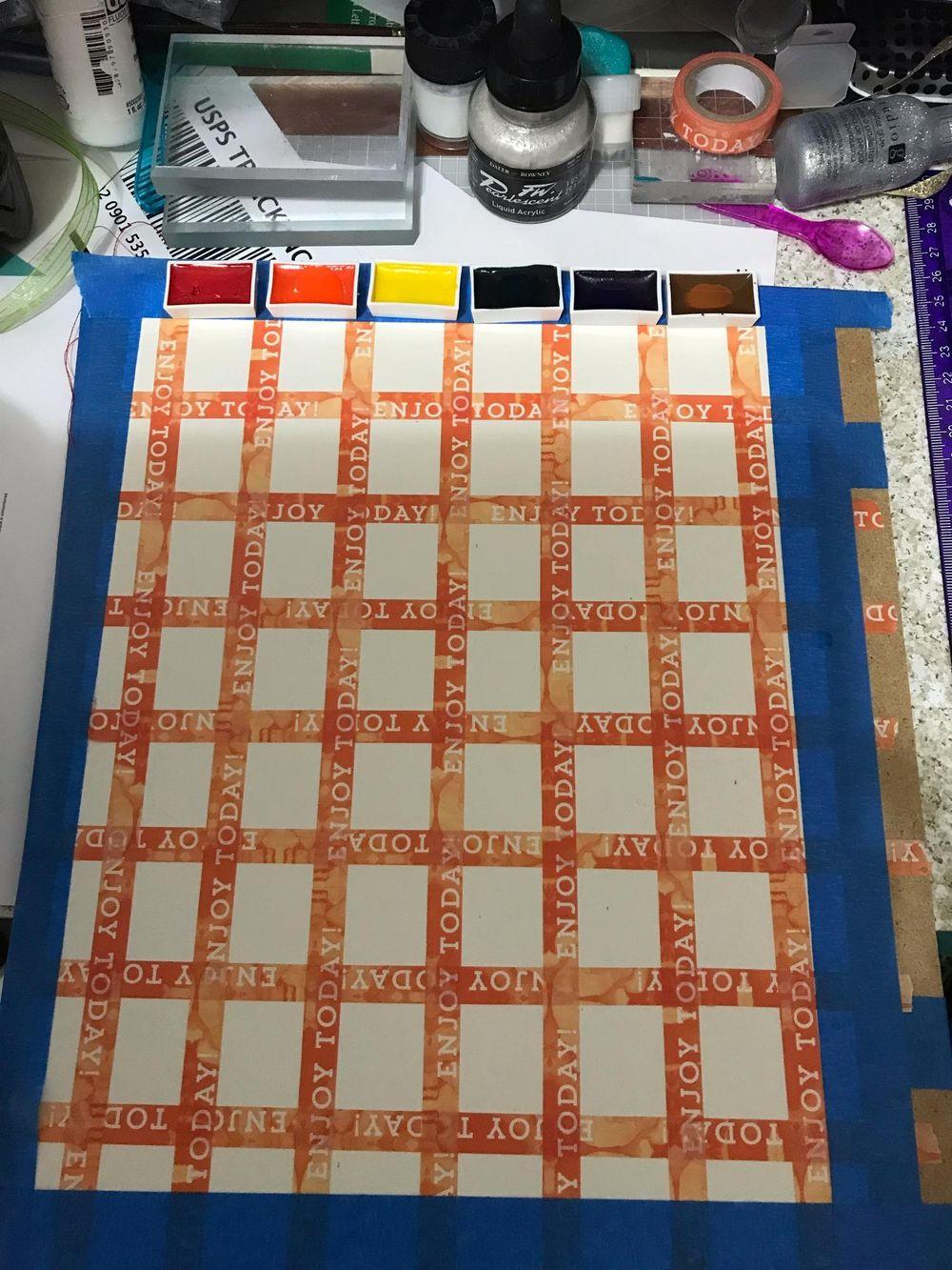 Mozart Komorebi Color Chart - image 1 - student project
